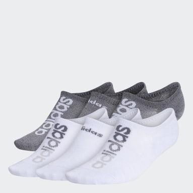Women's Training Multicolor Linear Superlite Super-No-Show Socks 6 Pairs