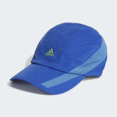 Running Blue AEROREADY Retro Tech Reflective Runner Cap