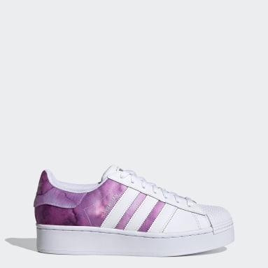 Women Originals Purple Superstar Bold Shoes