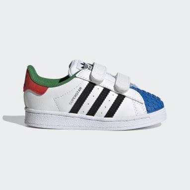 Bebek Originals Beyaz adidas Superstar x LEGO® Ayakkabı