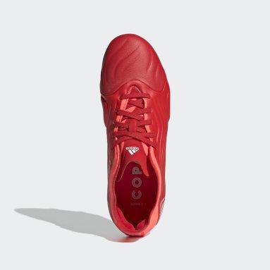 Chaussure Copa Sense.1 Terrain souple Rouge Enfants Football