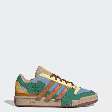 Men Originals Yellow Forum Low Shoes