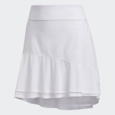 Women's Golf White Ultimate365 Knit Frill Skort