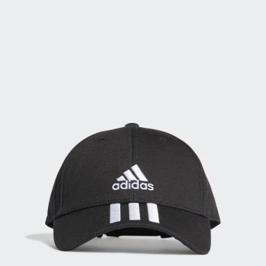 черный Бейсболка 3-Stripes