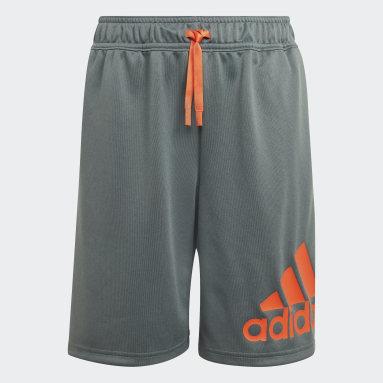 Shorts Designed 2 Move Azul Meninos Training
