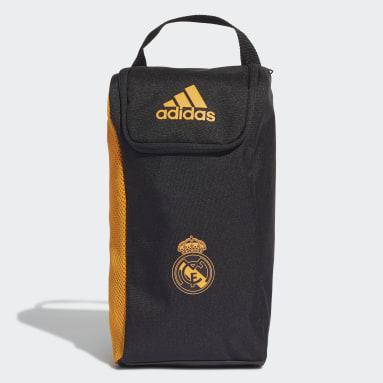 Bolsa para Calzado de Fútbol Real Madrid Negro Fútbol