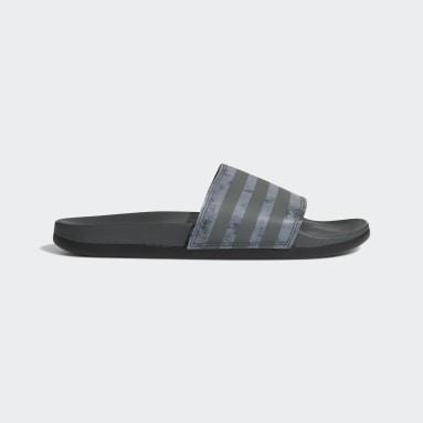 ว่ายน้ำ สีเทา รองเท้าแตะ Adilette Comfort
