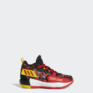 Children Basketball Red Dame 7 EXTPLY Shoes
