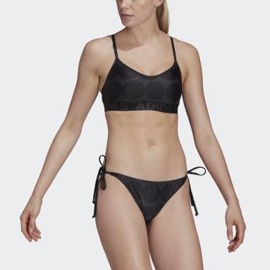 Women Swimming Grey Marimekko Räsymatto Bikini