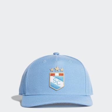 Gorra Sporting Cristal Visera Plana Azul Fútbol