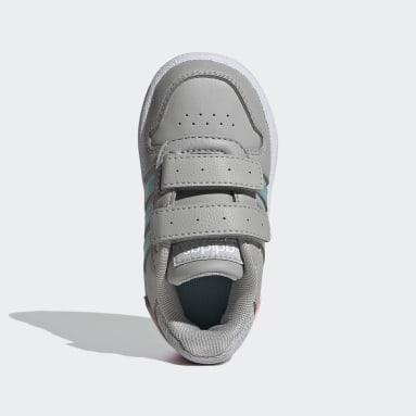 Sapatos Hoops 2.0 Cinzento Criança Basquetebol