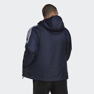 Men City Outdoor Blue Essentials Insulated Hooded Jacket