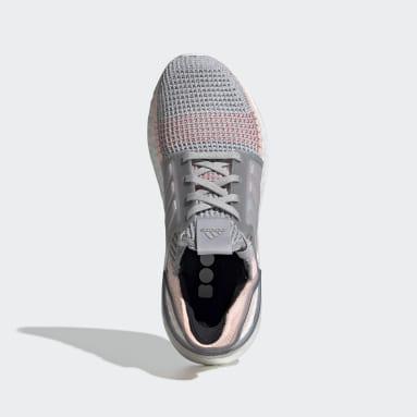 Tenis Ultraboost 19 Gris Mujer Running