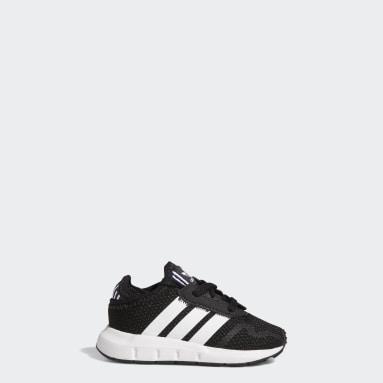 Sapatos Swift Run X Preto Criança Originals