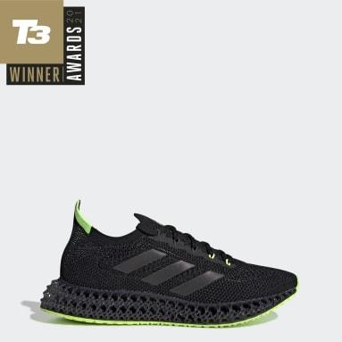 Tenis 4DFWD Negro Hombre Running
