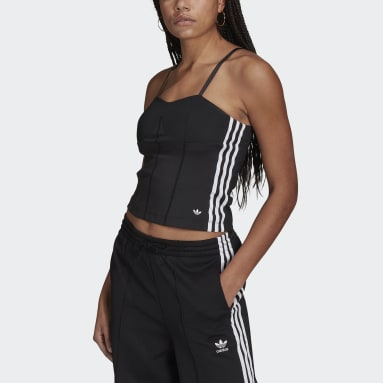 Women Originals Black Corset Top