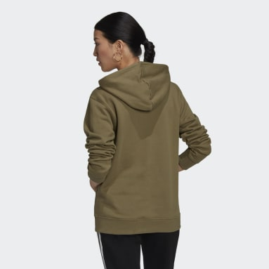 Women Originals Green Adicolor Essentials Hoodie
