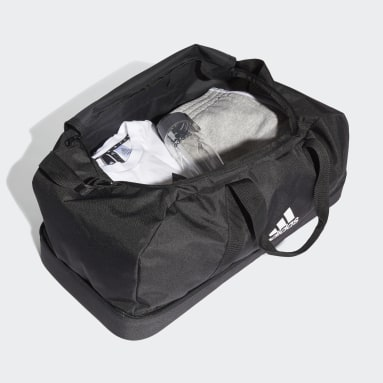 Fotboll Svart Tiro Primegreen Bottom Compartment Duffel Bag Large