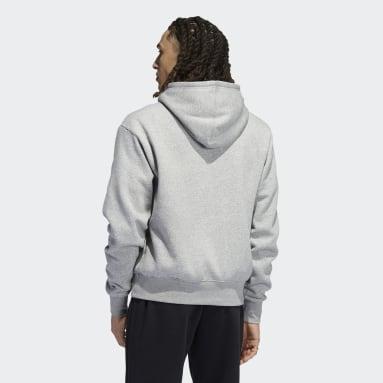 Men Originals Grey Logo Play Hoodie