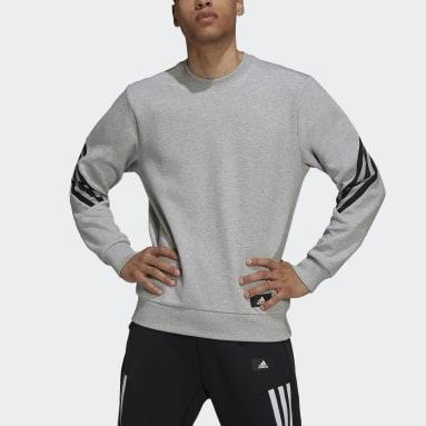 adidas Sportswear Future Icons 3-Stripes Genser Grå