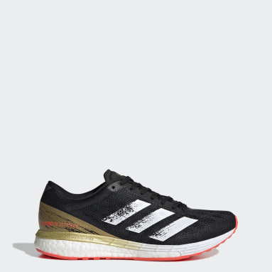 Women Running Black Adizero Boston 9 Shoes