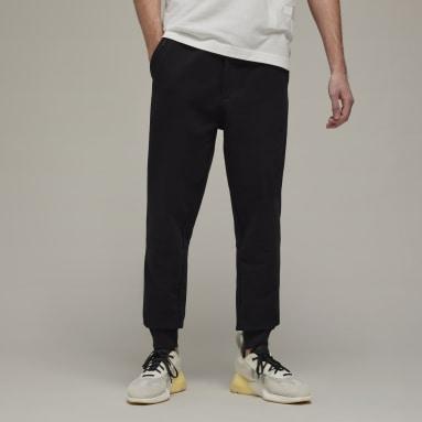 Mænd Y-3 Sort Y-3 Classic Terry Cuffed bukser