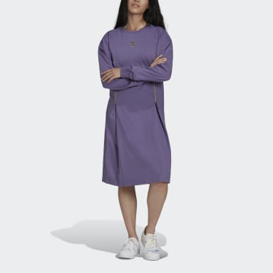Frauen Originals Long Sleeve Kleid Lila