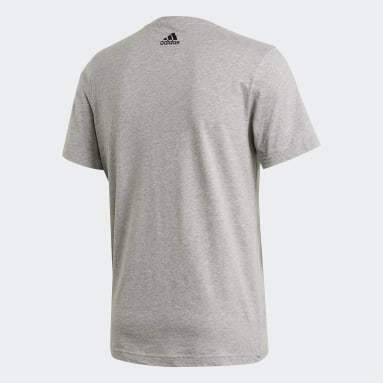 Playera Must Haves Lineage Gris Hombre Training
