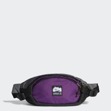 Canguro adidas Adventure Pequeño Negro Originals