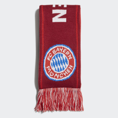 Fotboll Röd FC Bayern Scarf