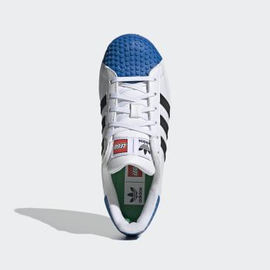 Youth Originals White adidas Superstar x LEGO® Shoes