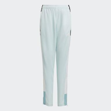 Youth Soccer Green Tiro Track Pants