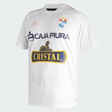 Tercera Camiseta Sporting Cristal 21/22 Blanco Hombre Fútbol