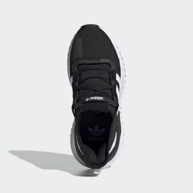 Youth Originals Black U_Path Run Shoes