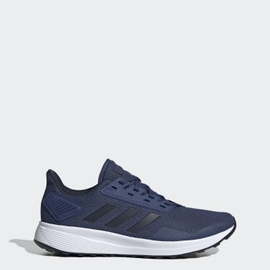 Men Running Blue Duramo 9 Shoes