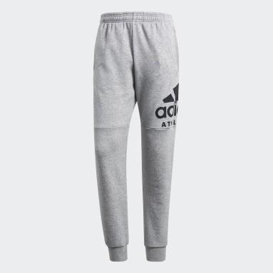 Pants Sport ID Track Gris Hombre Sportswear