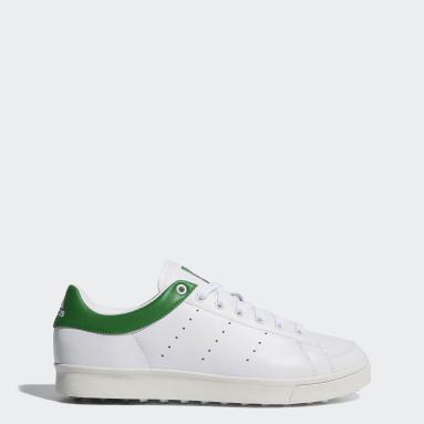 Men Golf White Adicross Classic Shoes