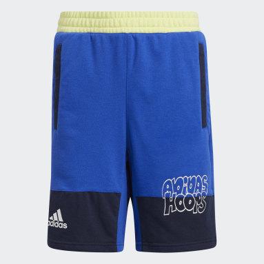 Pantalón corto Lil Stripe Azul Niño Baloncesto