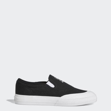 Originals Zwart Nizza RF Slip Schoenen