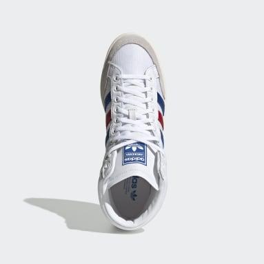 Originals Americana Hi Schuh Weiß