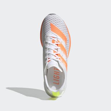 Men's Running White Adizero Pro Shoes