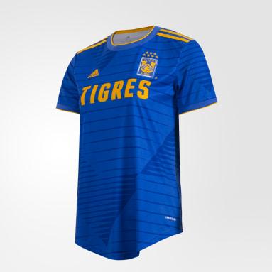 Jersey Visitante Tigres UANL 20/21 Azul Mujer Fútbol
