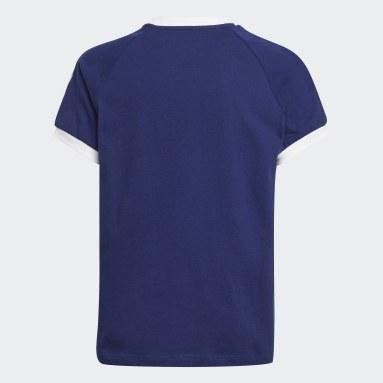 3-Stripes T-skjorte Blå