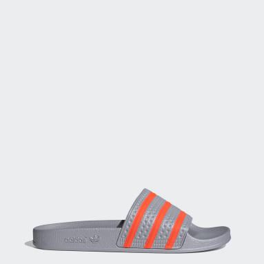 Originals Grey Adilette Slides