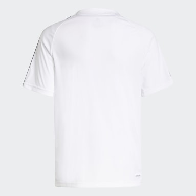 T-shirt adidas Sereno AEROREADY Blanc Garçons Football