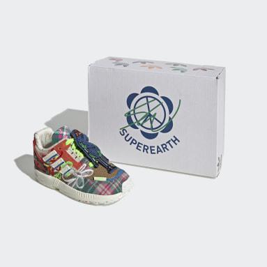 Infants Originals White ZX 8000 Superearth Shoes