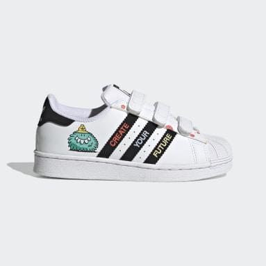 Scarpe adidas x Kevin Lyons Superstar Bianco Bambini Originals
