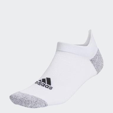 Men Golf White Tour Ankle Socks