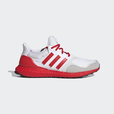 ผู้ชาย วิ่ง สีขาว รองเท้า adidas Ultraboost DNA x LEGO® Colors