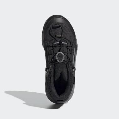 Kids TERREX Black Terrex Mid GORE-TEX Hiking Shoes